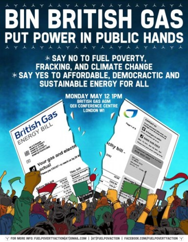 FPA Bin British Gas flyer